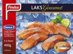 Prøv også Findus Laks Gourmet.