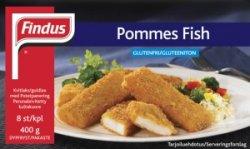 Bilde av Findus Pommes Fish med potetpanering.