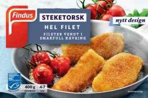 Prøv også Findus Steketorsk.