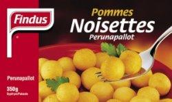 Prøv også Findus Pommes Noisettes.