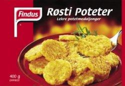 Bilde av Findus Røstipoteter.