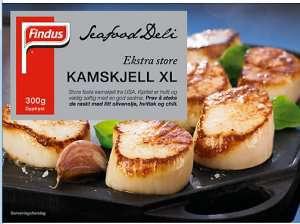 Bilde av Seafood Deli Kamskjell.
