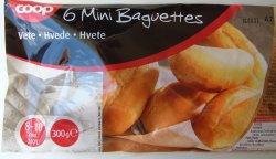 Bilde av Coop 6 Minibaguetter.