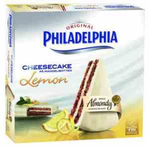 Prøv også Almondy Philadelphia.
