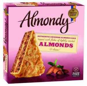 Prøv også Almondy Mandelkake.