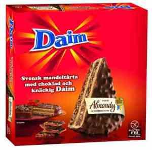 Prøv også Almondy Mandelkake med DAIM.