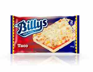Prøv også Billys Pan Pizza Taco.