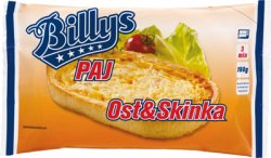 Prøv også Billys Ost- og Skinkepai.