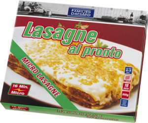 Bilde av Lasagne al Pronto, Dafgård.