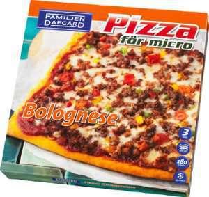 Prøv også Pizza Bolognese, Dafgård.