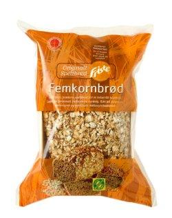 Bilde av Spelt Femkornbrød, økologisk, Dinkelbakeriet.