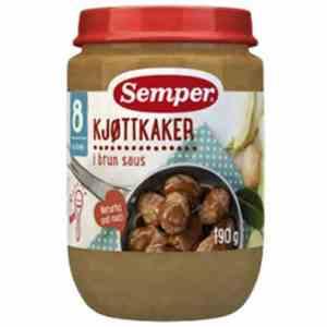 Prøv også Småfolk Kjøttkaker i brun saus.