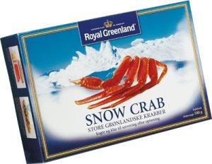 Prøv også Snow Crab, Royal Greenland.