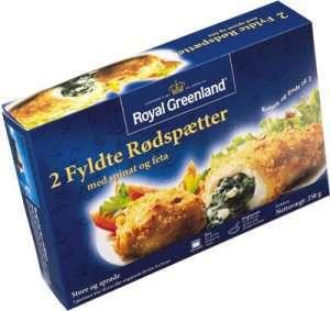 Prøv også Fylt rødspette m/spinat og feta, Royal Greenland.