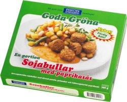 Prøv også Soyaboller m/paprikasaus, vegetar, Dafgård.