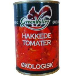 Bilde av Hakkede tomater, økologisk, Green Valley.