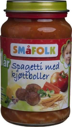 Prøv også Småfolk Spaghetti med Kjøttboller.