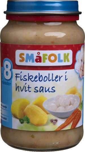 Prøv også Småfolk Fiskeboller i hvit saus.