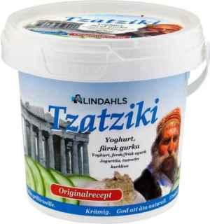 Prøv også Lindahls Tzatziki.