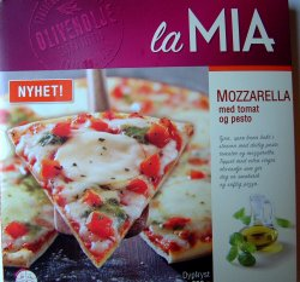 Bilde av La Mia Mozzarella med tomat og pesto.