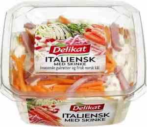 Prøv også Delikat Italiensk salat med kjøtt.