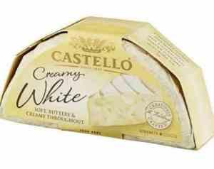 Prøv også Arla castello Creamy White.