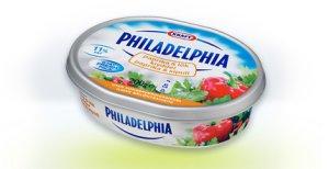 Bilde av Philadelphia Light paprika og Krydder Kremost.