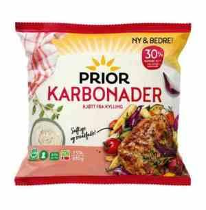 Prøv også Prior Karbonader av kylling-kalkun.