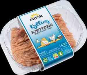 Prøv også Prior kyllingkjøttdeig.