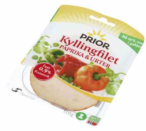 Prøv også Prior kyllingfilet paprika og urter.