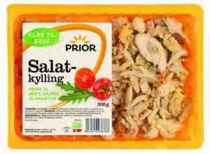 Prøv også Prior salatkjøtt kylling grillet.