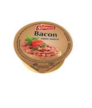 Bilde av Stabburet grov leverpostei med bacon.