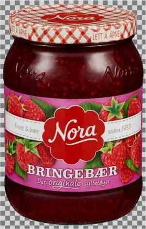 Prøv også Nora Bringebærsyltetøy.