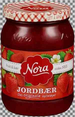 Prøv også Nora Jordbærsyltetøy.
