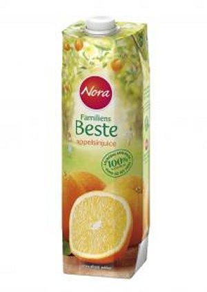 Prøv også Nora Familiens Beste Appelsinjuice.