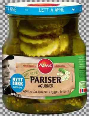 Prøv også Nora Pariser agurk.