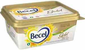 Prøv også Becel gold matfett.