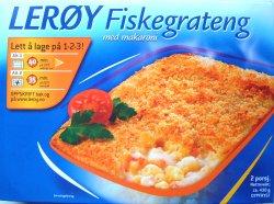 Bilde av Lerøy fiskegrateng.