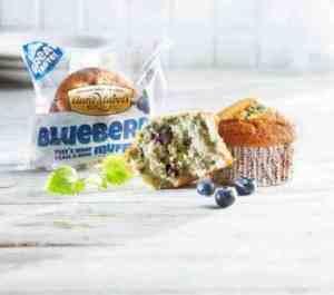Prøv også Aunt Mabel blueberry muffin.