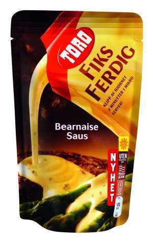 Prøv også Toro fiks ferdig bearnaisesaus.