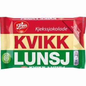 Prøv også Freia Kvikk Lunsj.