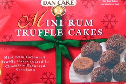 Bilde av Dancake Mini Rum truffles.