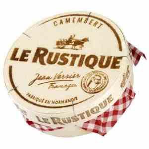 Prøv også Camembert Le Rustique.
