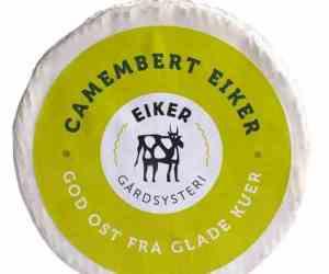 Prøv også Eiker Camembert.