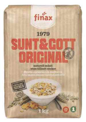 Prøv også Finax sunt og gott original.