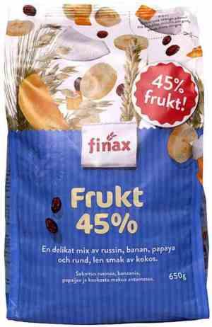 Prøv også Finax Frukt 45%.