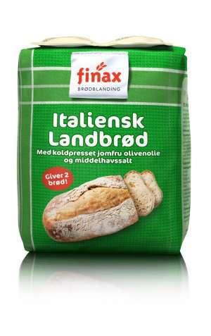 Bilde av Finax Brødmix Italienskt lantbrød.