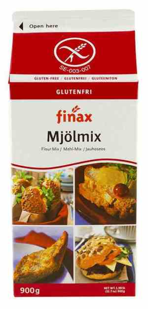 Prøv også Finax Glutenfri Mjølmix med melk.