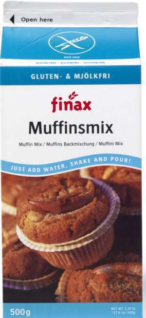 Bilde av Finax Glutenfri Muffinsmix (mjølkfri).