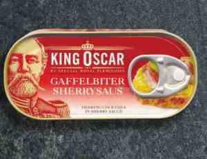 Prøv også King Oscar gaffelbiter i sherrysaus.